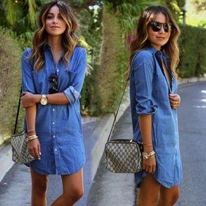 Dresses & Skirts - Tencil Chambray Dress Size M NWT